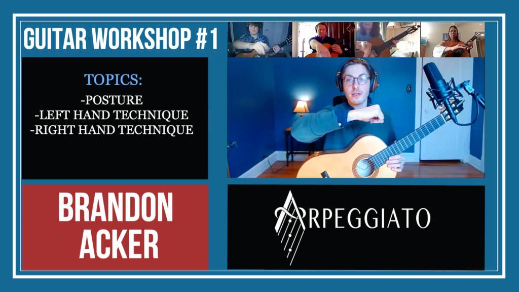 Guitar workshop #1